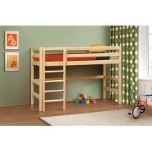 Кровать деревянная двухярусная №4