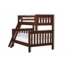 Кровать деревянная двухярусная №5