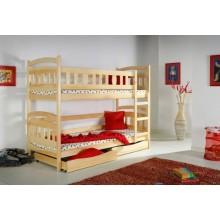 Кровать деревянная двухярусная №7