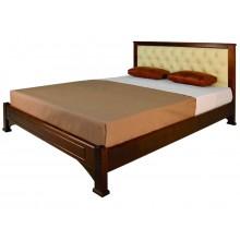 """Кровать """"Омега прямая с мягким изголовьем"""""""