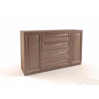 Комод 4 ящика и 2 дверцы