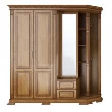 Шкаф открытый угловой Верди №4